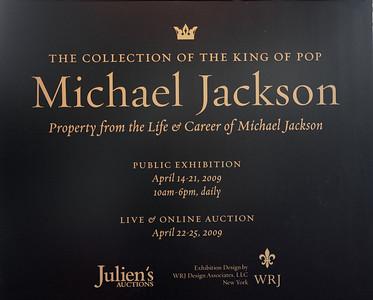 Michael Jackson Exhibit