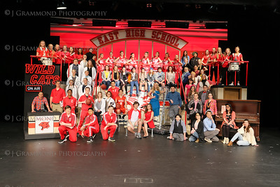 High School Musical 2016 Group Photos
