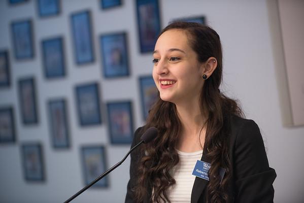 SGA President, Rebecca DiVico