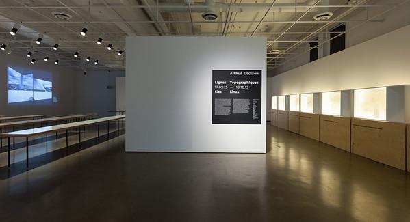 Lignes topographiques / Site Lines _Exposition