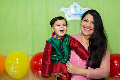 Kirtan's First Birthday