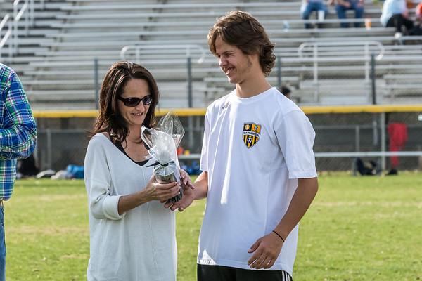 IAHS Soccer Senior Recognition