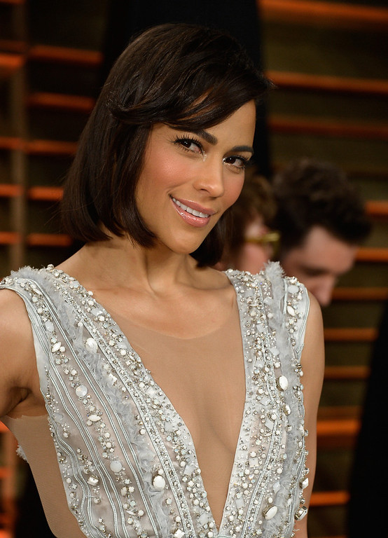 . Paula Patton attends the 2014 Vanity Fair Oscar Party hosted by Graydon Carter on March 2, 2014 in West Hollywood, California.  (Photo by Pascal Le Segretain/Getty Images)