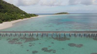 Pulau Bawah Kabupaten Anambas Kepri.