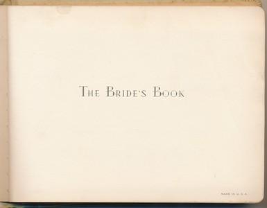 1943 Joy Mason Biswanger Bride's Book