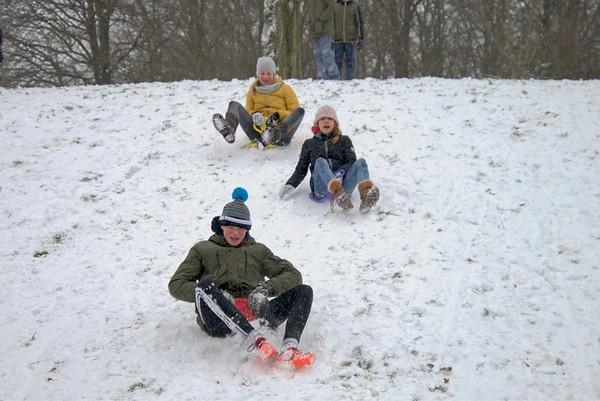 Sneeuw in Zoetermeer