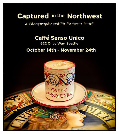 Captured in the Northwest- Caffe' Senso Unico