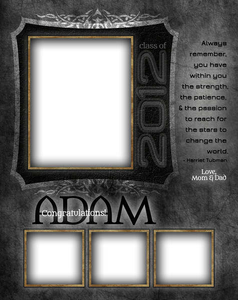 Tattooed - Full Page Template #1
