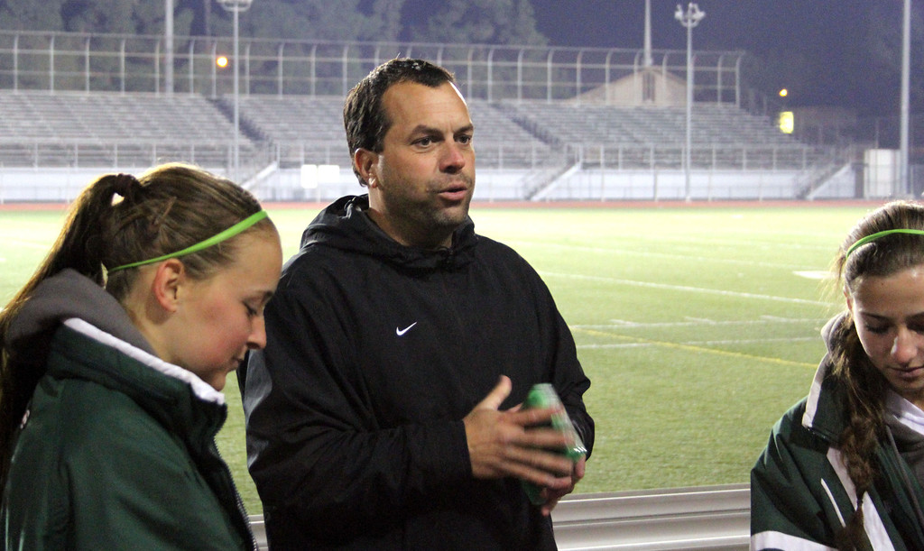 . Photo courtesy Dan Mullin. This is South Torrance girls soccer coach Brad Gomez