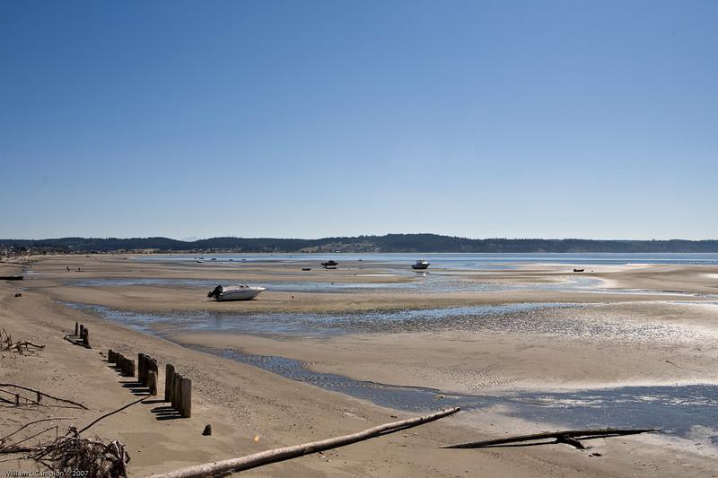 Low Tide Useless Bay Whidbey Island WA