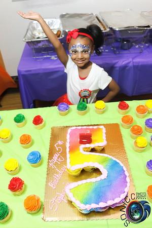 MARCH 11TH, 2017: STEPHANIE'S 5TH BIRTHDAY BASH