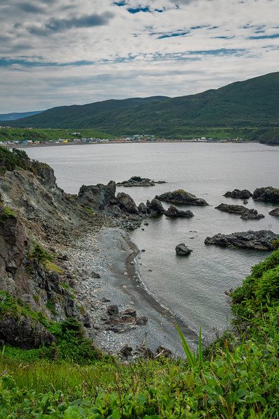 Photos inside Gros Morne National Park, Newfoundland, Canada--Eastern Trail, Trout River