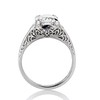 1.88ctw Platinum Filigree Solitaire Ring by C.D. Peacock, GIA S-T, VS 3