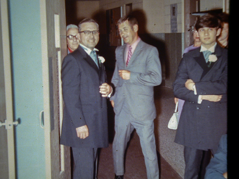 1971; Kathy Jones and Lou Perfetti wedding.