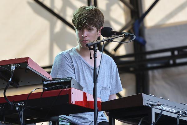 James Blake performs at Latitude 2013 - 21/07/13