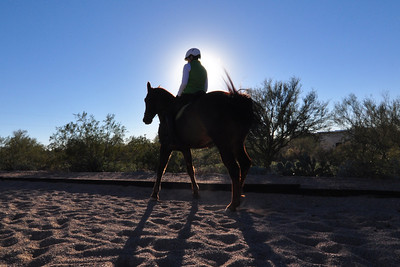20131226 AZ Horse Lesson