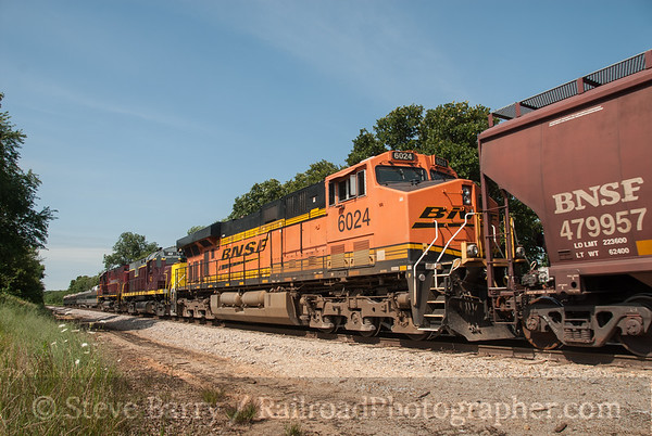 BNSF Railway (on A&M) Exeter, Missouri June 14, 2014