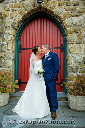 Wedding at St. Bernard's, Bernardsville, NJ by  Alex Kaplan Photo Video Photobooth