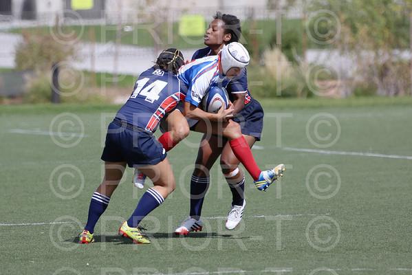 September 29, 2013 Women's Premier League Glendale Raptors vs New York Rugby Sunday
