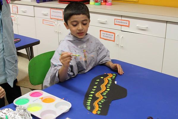 Kindergarten Painted Sombreros