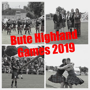 The 2019 Bute Highland Games