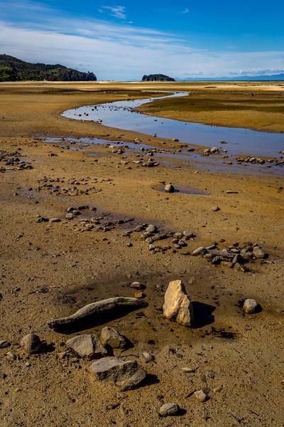 «Abel Tasman Nationalpark»: An der «Sandy Bay» in der Nähe von Marahau