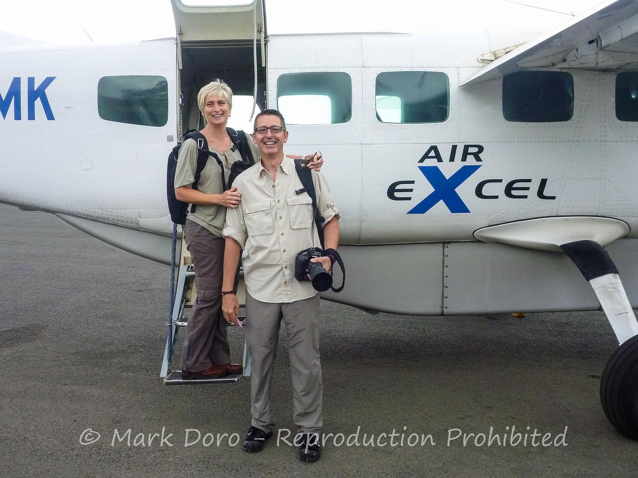 Off to the Serengeti, Arusha Airport Tanzania