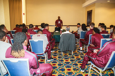 AAMU 2018 Football vs Southern -Gulf Coast Challenge PreGame Band Fans and Friends