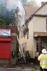 Howard Ave. Fire (Bridgeport, CT) 9/22/09