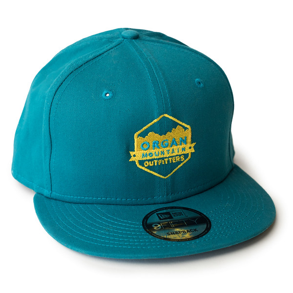 Outdoor Apparel - Organ Mountain Outfitters - Hat - New Era Classic Flat Bill Snapback Cap - Teal.jpg