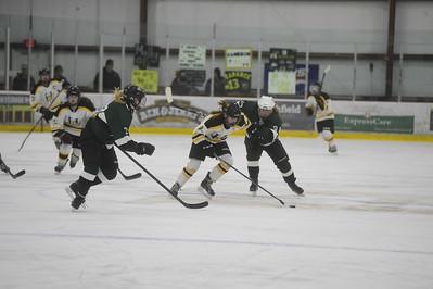 Harwood vs Woodstock girls hockey