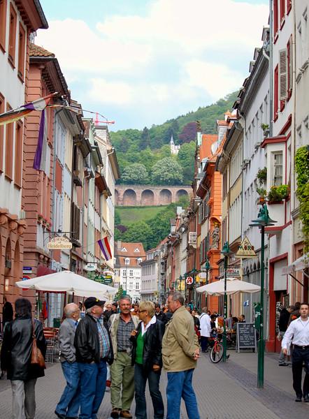 Hauptstraße in Heidelberg