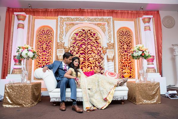 Kavitha + Rahul Reception
