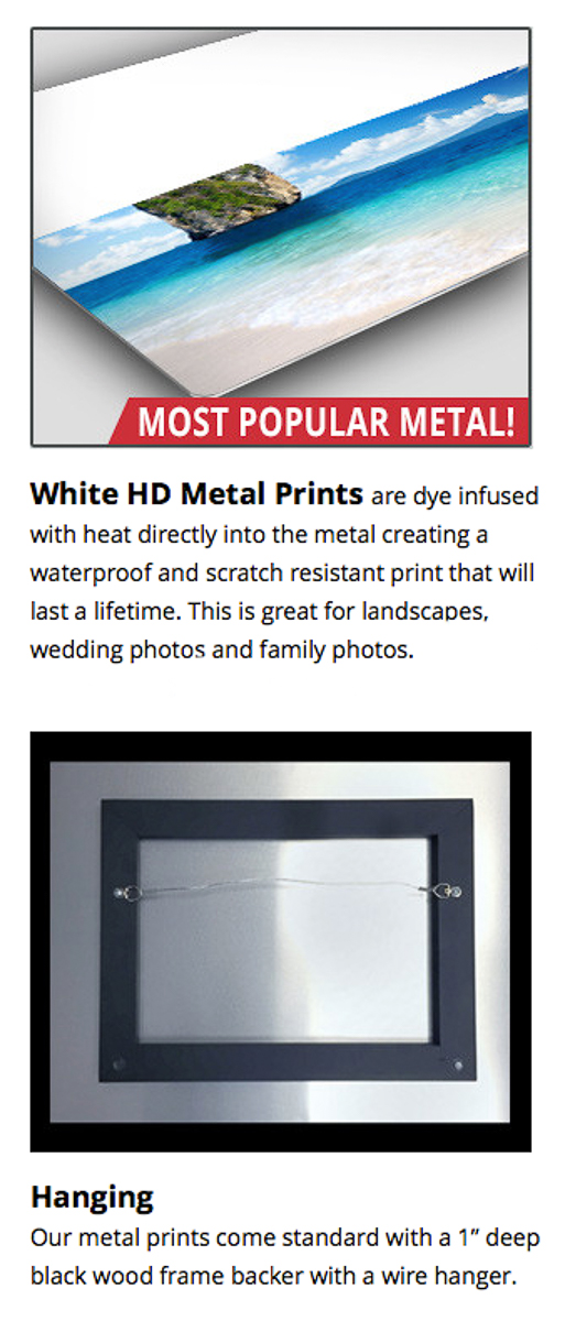 White HD Metal
