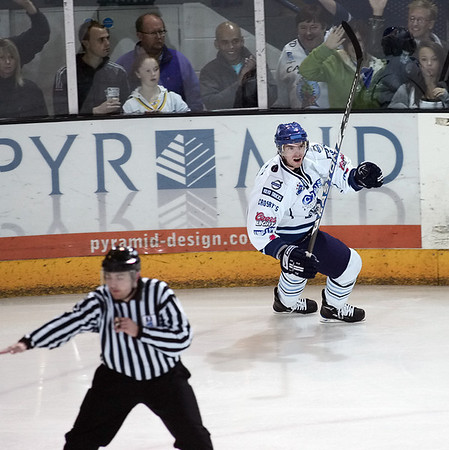 Blaze v Nottingham Panthers - 10/10/2009