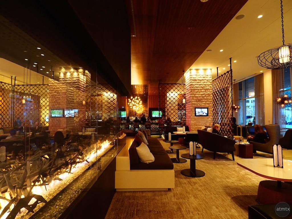 Warm Interior, JW Marriott Lobby - Austin, Texas