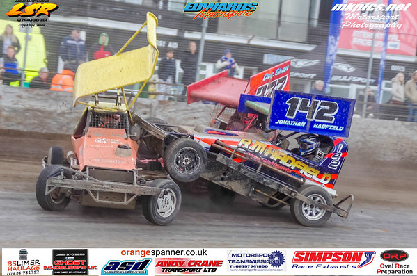 BriSCA F2 Stockcars, Northampton, 5 May 2019