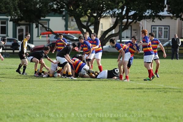 Tawa College 2nd XV v Wellington College 3rd XV - 25 May 2013
