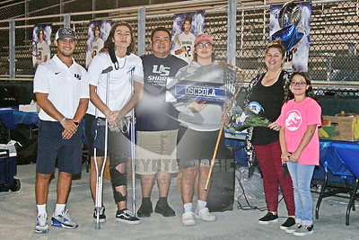 3/25/2021 - NSU University School Senior Night - Blue vs. White scrimmage - AutoNation Field, Davie, FL