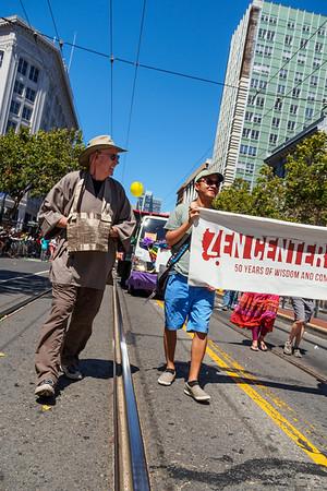 2014 Pride Parade with SFZC