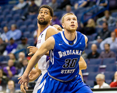 Indiana State vs Evansville MVC Tourney 3/2/17