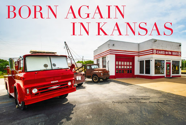 Born Again In Kansas Cars On The Route