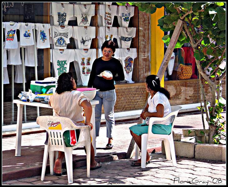Tortilla Ladies  Isla Mujeres, Mexico