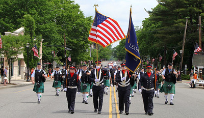 Leonia Memorial Day Services & Parade 2016