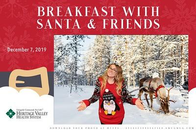 HVHS Santa 2019