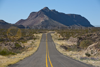 Big Bend Ranch State Park - Mountains