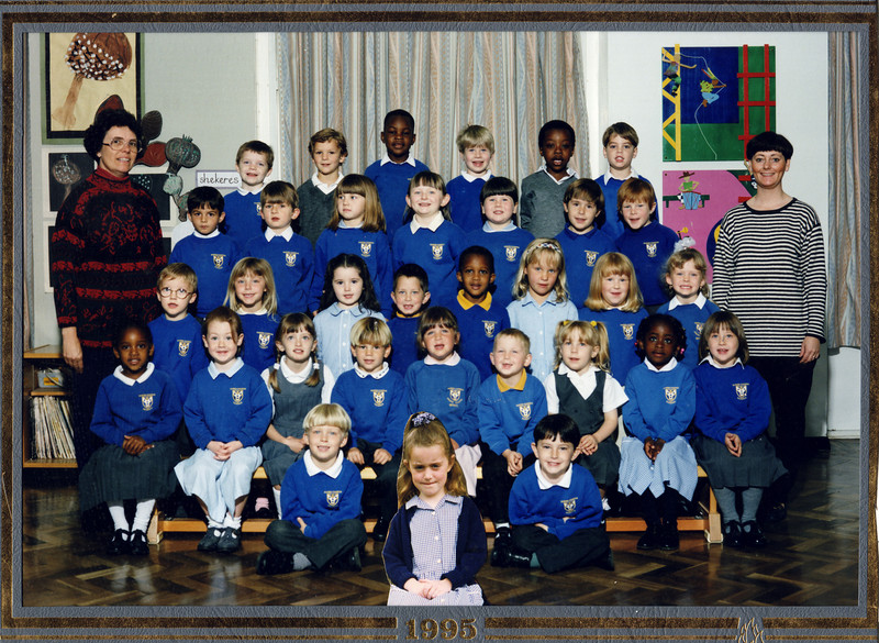 First school photo - had the day off!