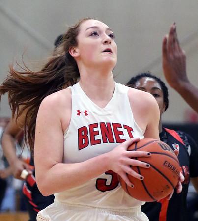 Benet girls basketball vs. Edison