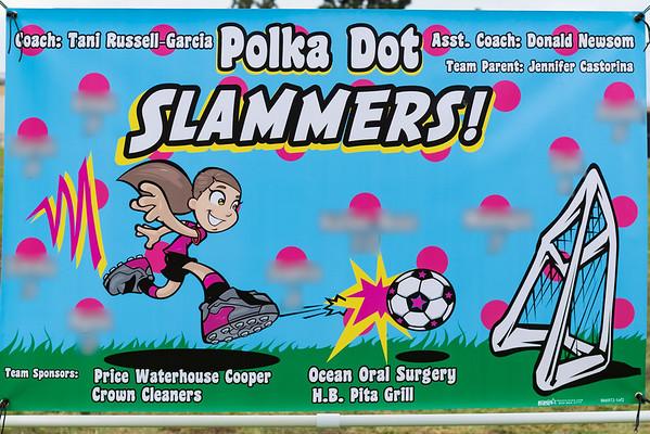 Ice Breakers vs. Polka Dot Slammers