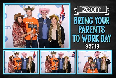ZOOM Bring your parents to work day.